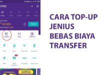 cara top up jenius